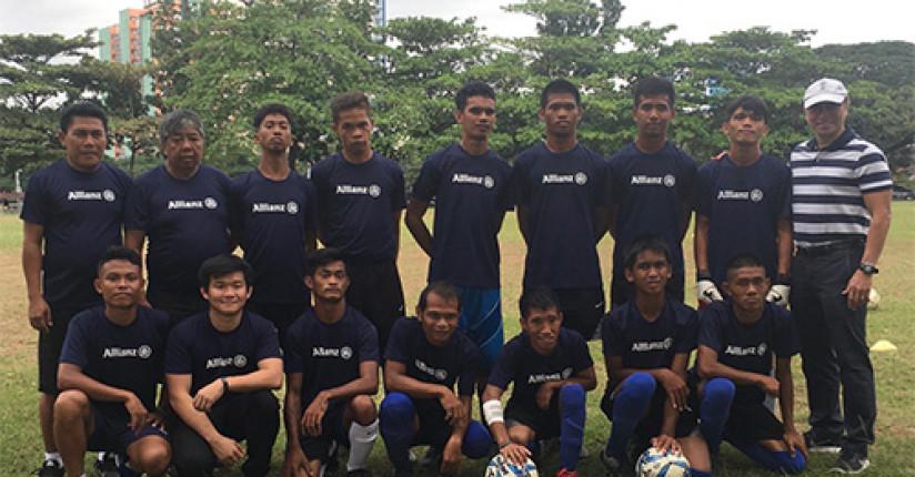 Allianz Lends Support To Football Team In ASEAN Para Games