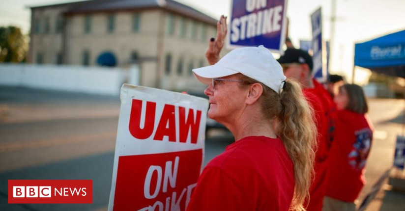 General Motors Strike: 'We've Got To Fight For What's Right'