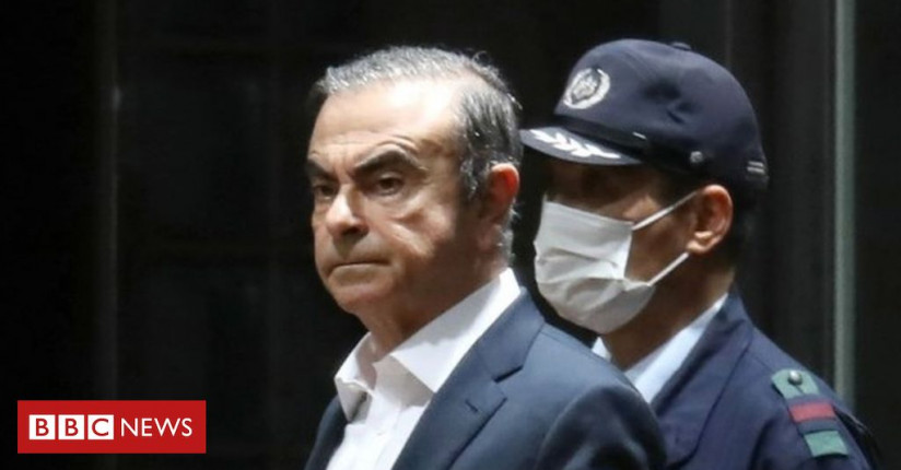 Nissan's Ex-boss Ghosn Leaves Tokyo Jail On $4.5m Bail